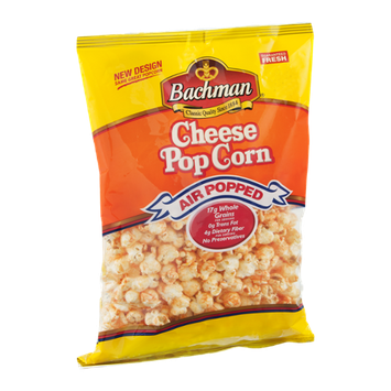 Bachman Cheese PopCorn Air Popped