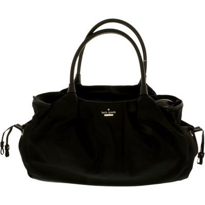 kate spade new york 'classic - stevie' nylon baby bag - Black