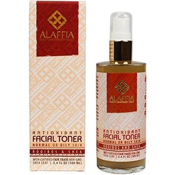 Alaffia Rooibos & Shea Antioxidant Facial Toner, 3.4 oz