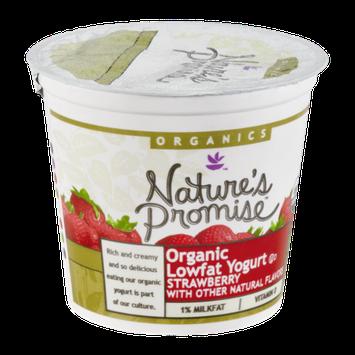 Nature's Promise Organics Yogurt Lowfat Organic Strawberry