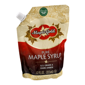 Maple Gold Pure Maple Syrup Dark Amber