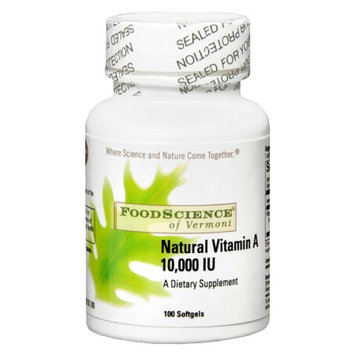 FoodScience of Vermont Natural Vitamin A 10