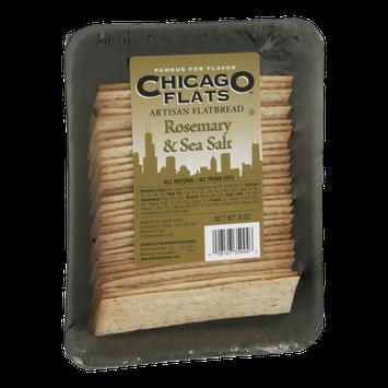 Chicago Flats Artisan Flatbread Rosemary & Sea Salt