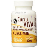 Advanced Orthomolecular Research AOR Curuviva 80 mg Capsules, 60 Count