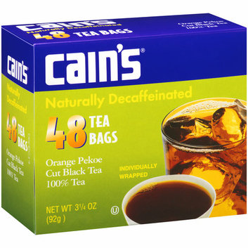 Cain's Orange Pekoe Cut Black Tea Bags