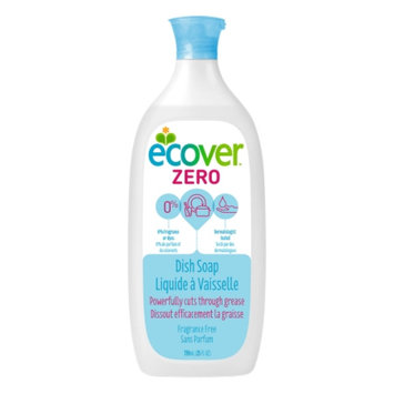 Ecover Liquid Dish Soap, Fragrance Free, 25 fl oz