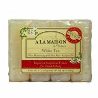 A La Maison Bar Soap White Tea Value 4 Pack