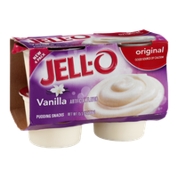 JELL-O Pudding Snacks Vanilla Original - 4 CT