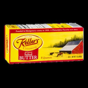 Keller's Creamery Butter Salted - 4 CT