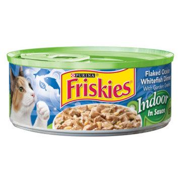 Friskies® Indoor In Sauce Flaked Ocean Whitefish Dinner With Garden Green Cat Food