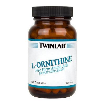 Twinlab L-Ornithine Free Form Amino Acid Capsules