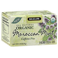 Bigelow Organic Herb Tea Bags Moroccan Mint,6 Pack
