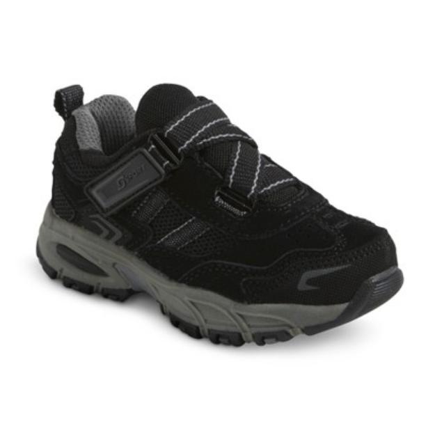 S SPORT BY SKECHERS Toddler Boy's Black Trainer Sneaker