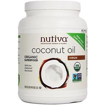 Nutiva Organic Virgin Coconut Oil, 78 oz