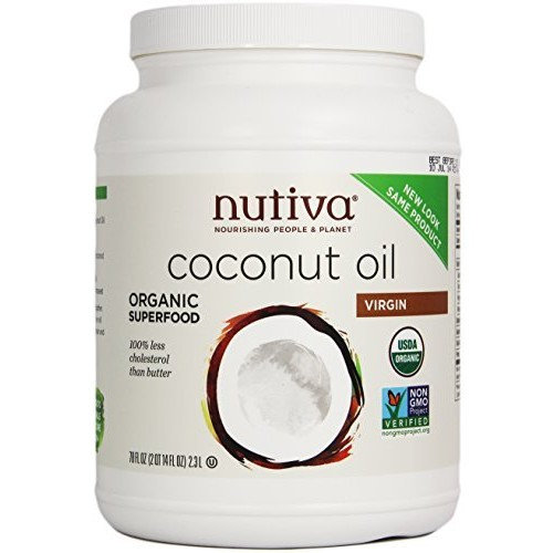 Nutiva Organic Virgin Coconut Oil, 78 oz Reviews 2019