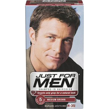 JUST FOR MEN® Shampoo-In Hair Color Medium Brown