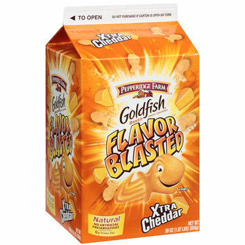 Goldfish Flavor Blasted Xtra Cheddar Baked Snack Crackers