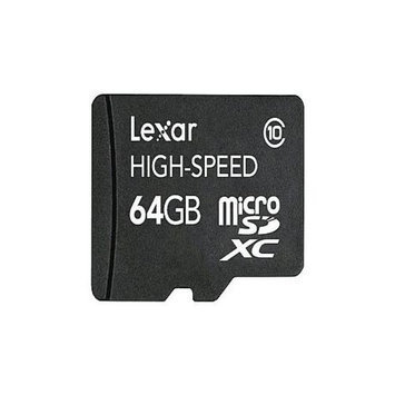 Lexar - Flash memory card - 64 GB - Class 10 - microSDXC