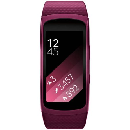 Samsung Gear Fit2 Pink Strap Smartwatch 25x51mm