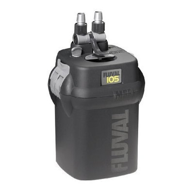 Hagen Fluval 105 Canister Filter - 110V, 125 gallons per hour