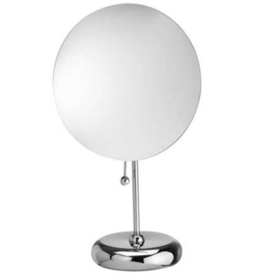 Upper Canada Soap D132 Rimless Multi-purpose magnetic round mirror