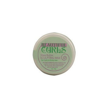 Alaffia- Beautiful Curls- Curl Sculpting Wax- 2 oz.
