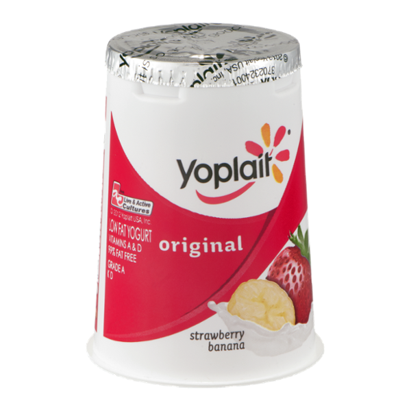 Yoplait Original Strawberry Banana Yogurt Reviews | Find ...