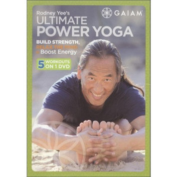 Gaiam Ultimate Power Yoga with Rodney Yee DVD