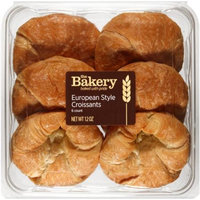 The Bakery at Walmart The Bakery European Style Croissants, 6 count, 12 oz