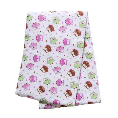 Trend Lab Flannel Swaddle Blanket - Owl