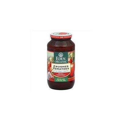 Eden Foods Crushed Tomatoes No Salt Organic 25 Oz, Pack of 12