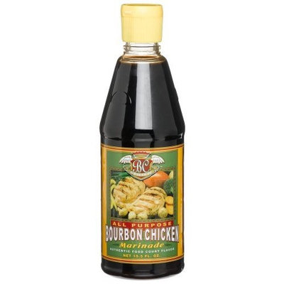 Breezy Spring Bourbon Chicken Marinade Sauce, 15.-Ounce Bottles (Pack of 6)