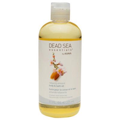 Dead Sea Essentials by AHAVA Body & Bath Oil, Relaxing Almond, 11 fl oz