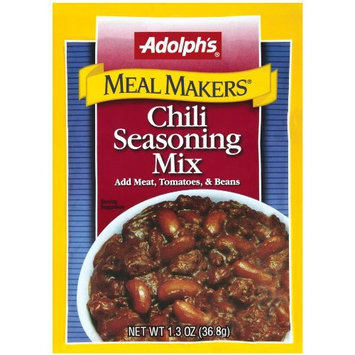 Adolph's Adolphs Chili Seasoning Mix, 1.3-Ounce Packets (Pack of 24)