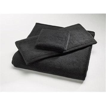 Home Source 10102SHK98 100 Percent Cotton Shower Towel - Black