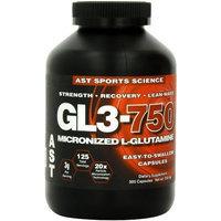 AST Sports Science Micronized GL3 750 L-Glutamine Caps, 500 capsules