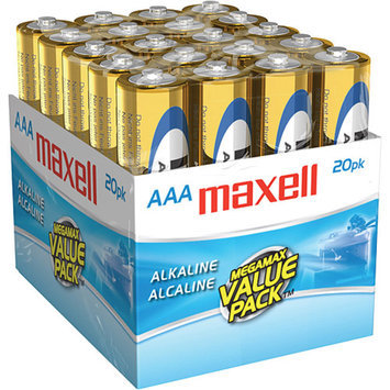 Maxell MAXELL 723849 - LR0320MP ALAKALINE BATTERIES - AAA; 20 PK; BRICK