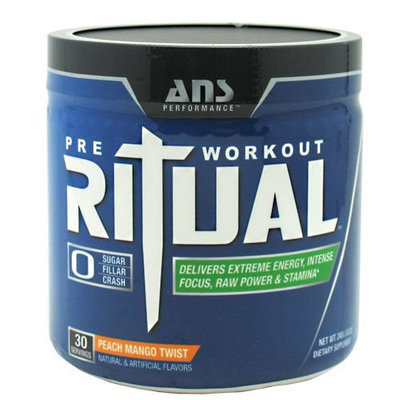 ANS Performance - Ritual Pre-Workout Peach Mango Twist - 240 Grams