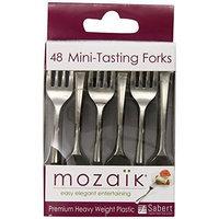 Mozaik Appetizer Forks, 48-Count Forks (Pack of 6)