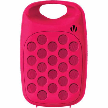 Vivitar Infinite VBT1000 Bluetooth Wireless Rechargeable Clip On Speaker-Pink