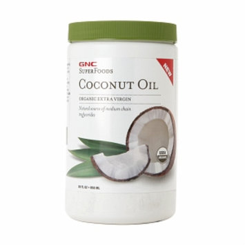 Gnc GNC SuperFoods Coconut Oil Organic Extra Virgin, 29 fl oz