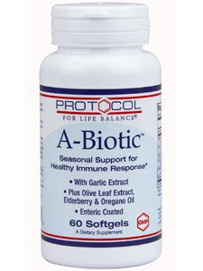 A-Biotic 60 gels by Protocol For Life Balance