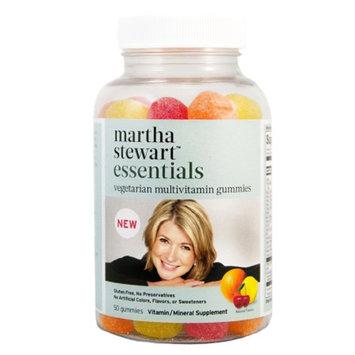 Martha Stewart Essentials Vegetarian Multivitamin, Gummies, 50 ea