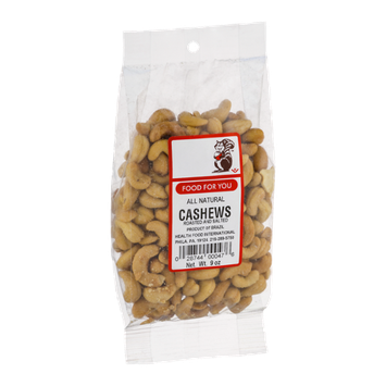 Food For You Cashews Roasted and Salted