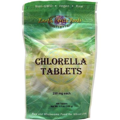 Earth Circle Organics - Chlorella Tablets 250 mg. - 400 Tablets