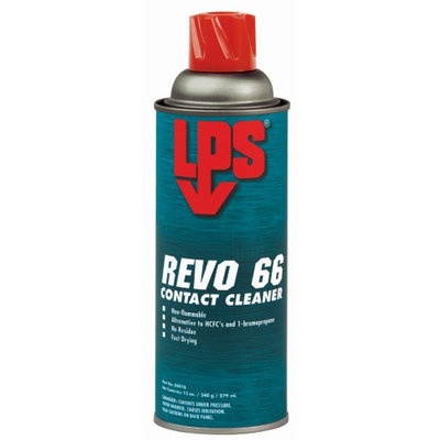 LPS 04416 Revo 66(R),Non-Flammable Cleaner,12 oz.