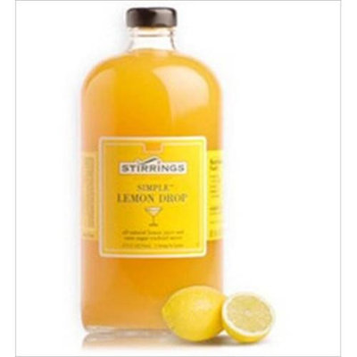 Stirrings, Mixer,lemon Drop Cocktail, 750 Ml (Pack of 6)