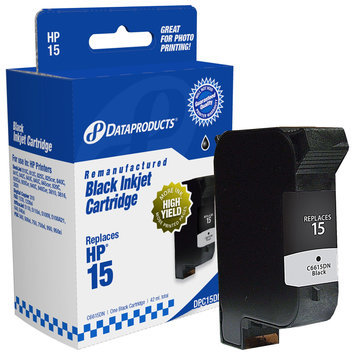 Dataproducts/n. Amer Supply Dv 60264 COMPATIBLE REMANUFACTURED INK, 300 PAGE-YIELD, BLACK