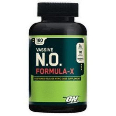 Optimum Nutrition Vassive N.O. Formula-X -- 180 Tablets