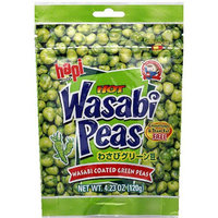 Hapi Snacks Hot Wasabi Peas, 4.23 oz, (Pack of 12)